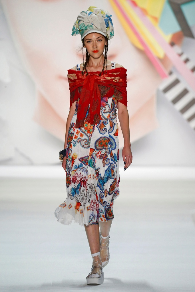 Robe mi longue desigual collection ete 2016