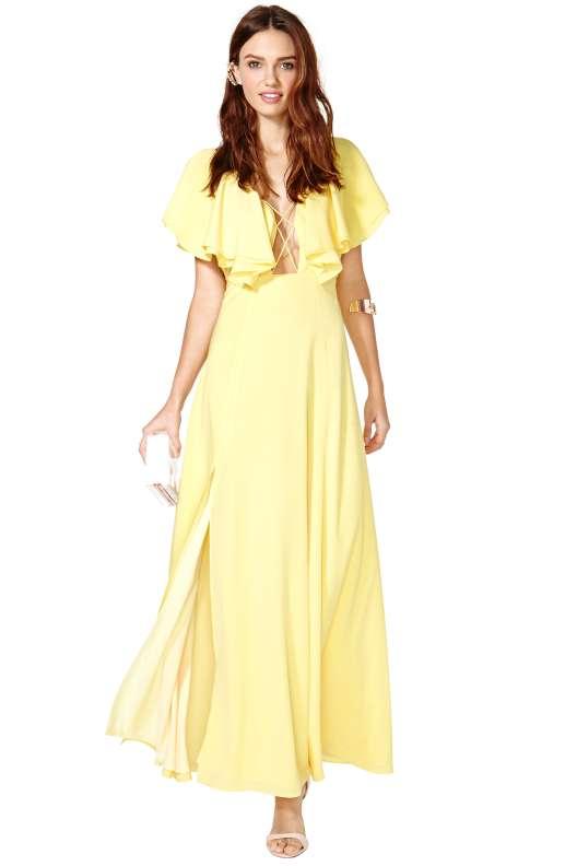 belle robe mariage longue ete habille