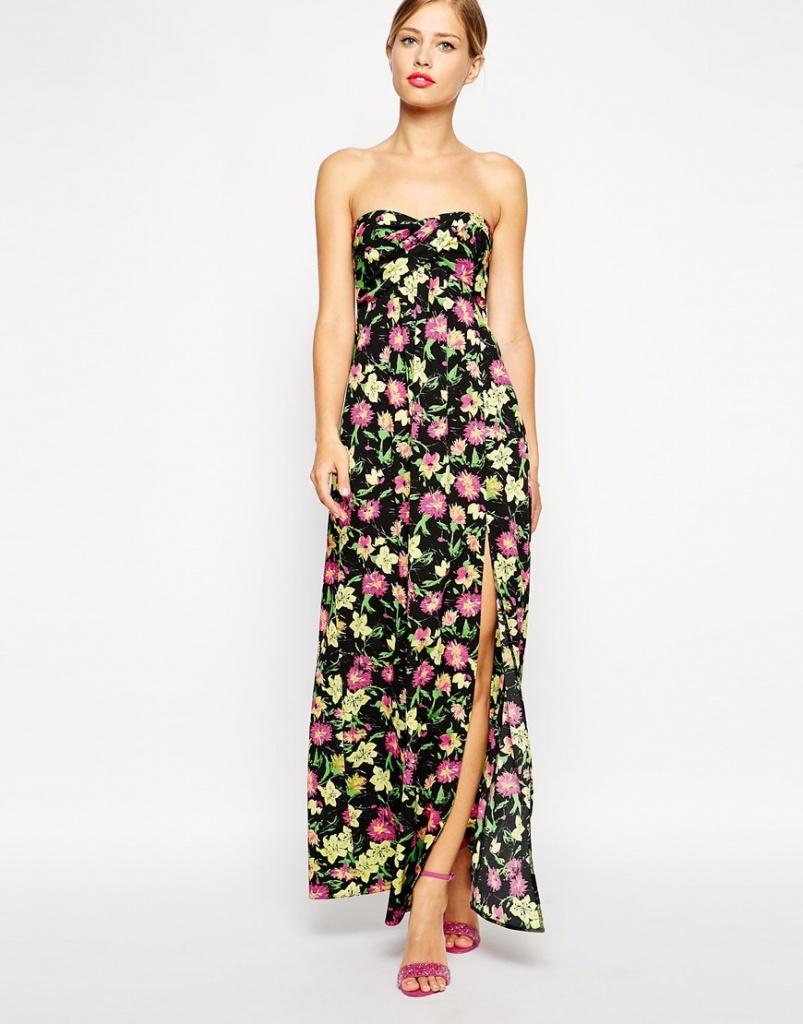 newest collection sale retailer new high quality maxi robe longue ete bustier fendue sur le cote - la robe longue