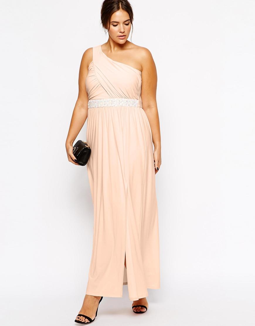 robe ete rose beige ceremonie longue grande taille la. Black Bedroom Furniture Sets. Home Design Ideas