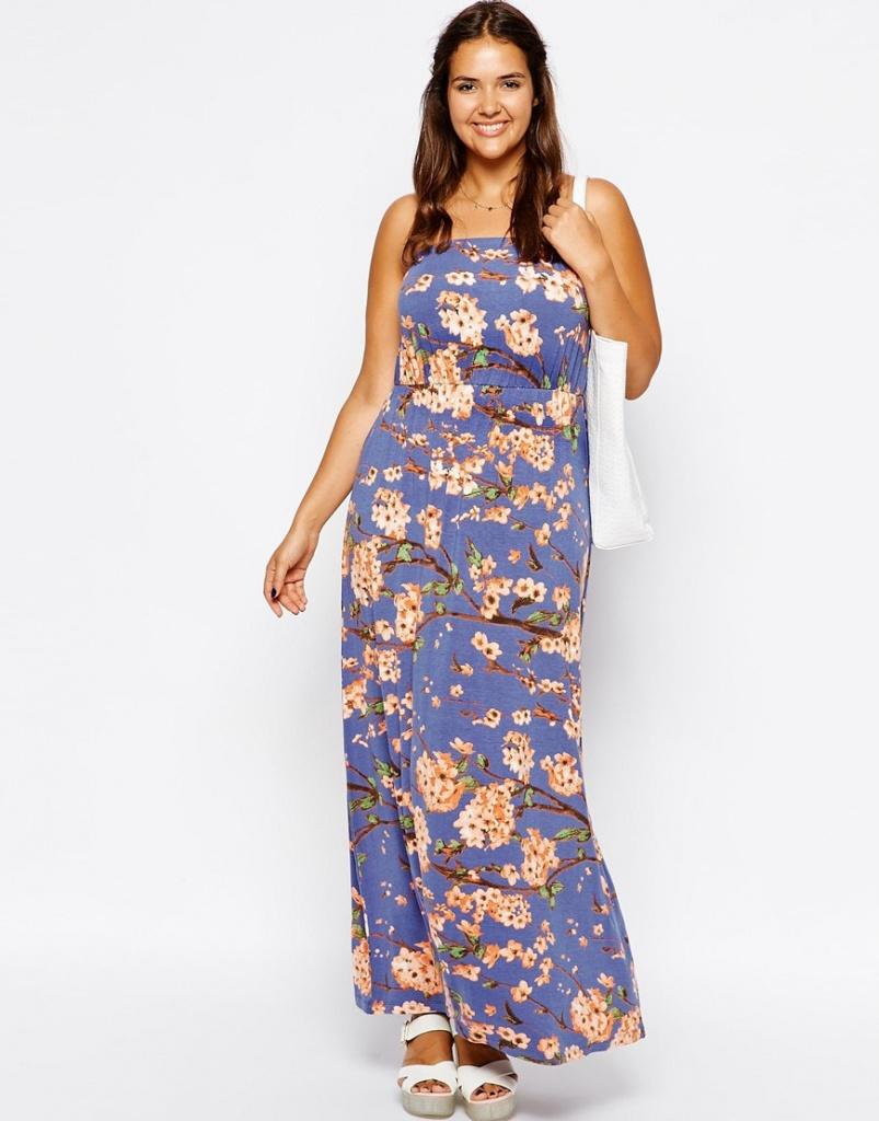 robe longue bustier grande taille ete maxi longueur