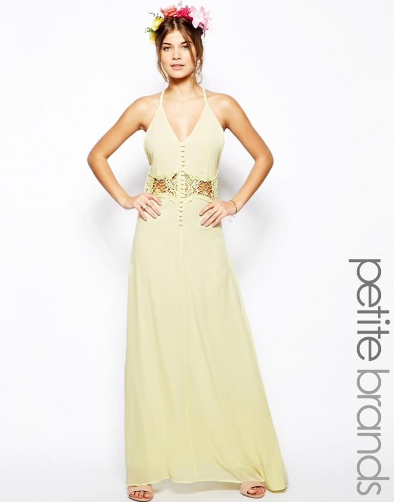 35e088784250 robe longue cocktail mariage blanc casse et ceinturee - la robe longue
