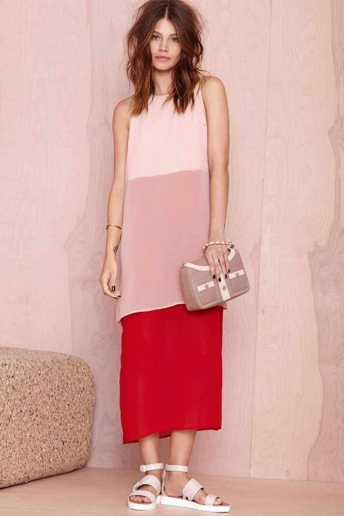 robe longue ete fashion 3 couleurs