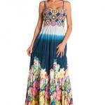 robe longue ete motifs riches et colore