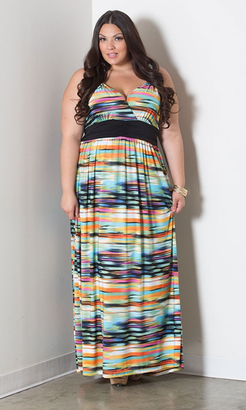 robe longue grande taille 54 belgique ceinture contrastee