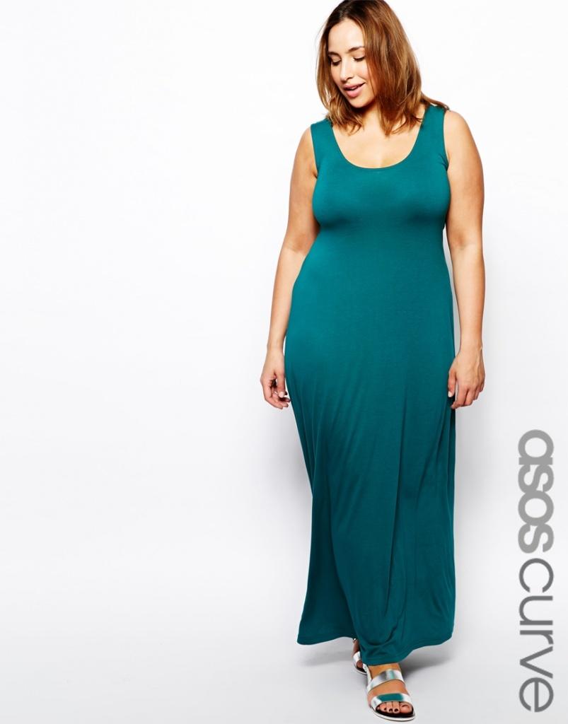 robe longue grande taille soiree sans manche bretelle large