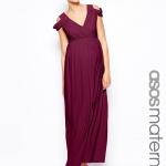 robe longue mariage femme enceinte parme