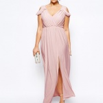 robe longue tres habillee grande taille pour mariage