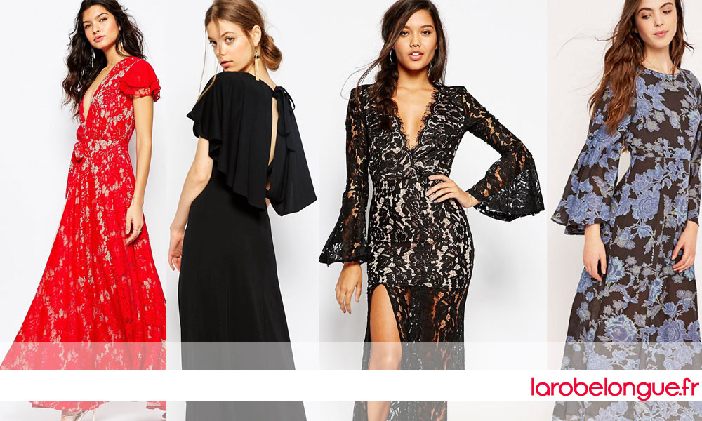 collection robe longue hiver 2015 2016
