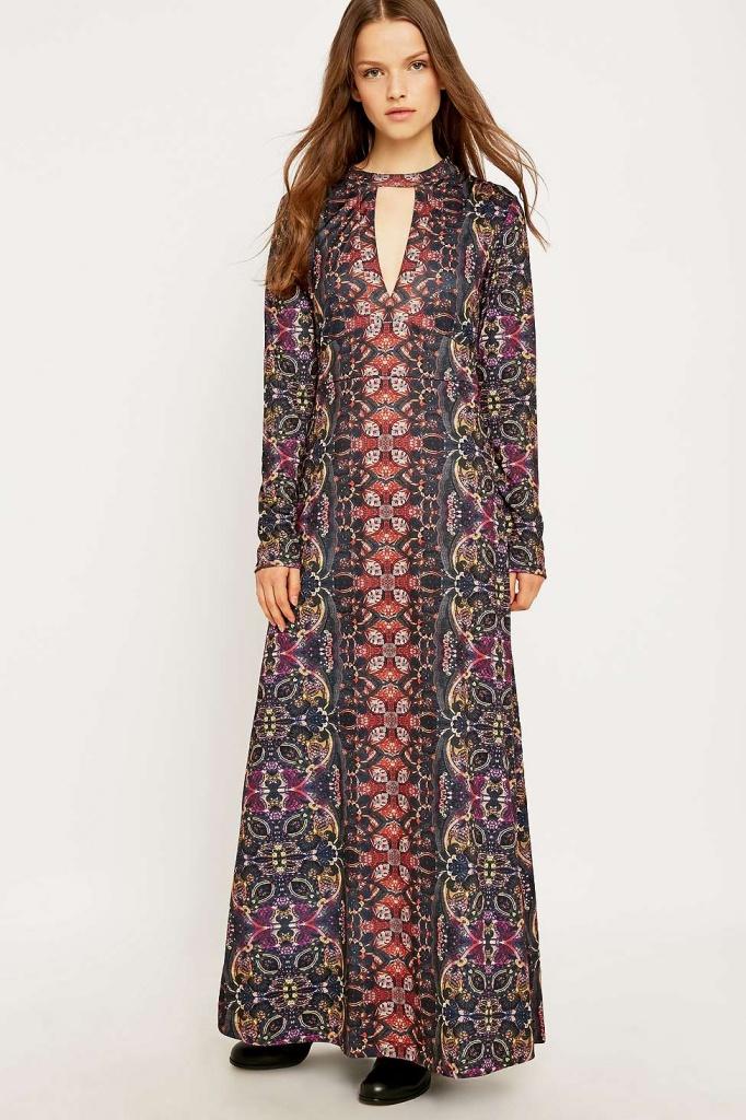 robe longue urban outfitter ultra boheme orignale