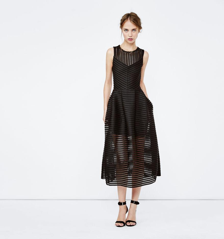 robe maje longue sans manche maille originale et