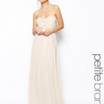 robe demoiselle d honneur longue bustier ivoire