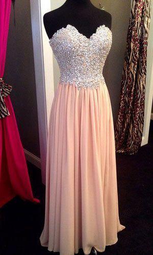 robe longue bustier  argent et jupon fluide rose pale