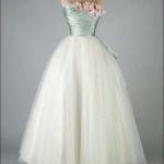 robe longue bustier argente avec roses et jupon mousseline esprit ballerine