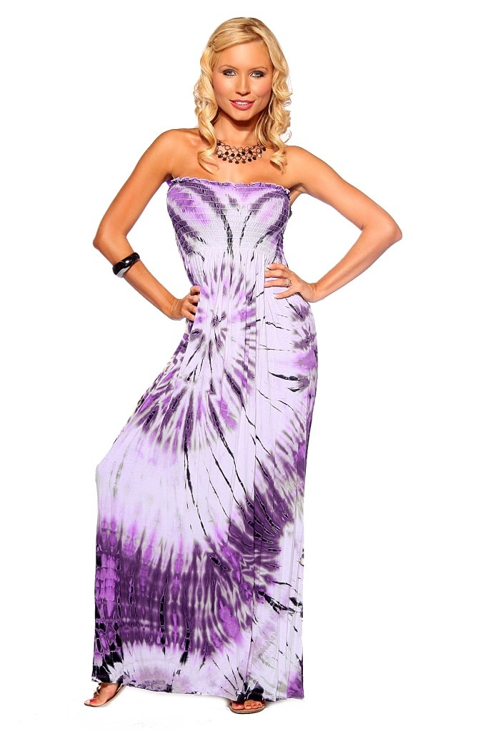 robe longue bustier ete plage