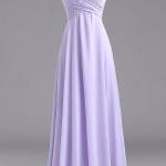 robe longue bustier mauve pale droite