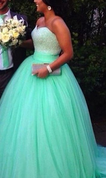 robe longue bustier paillettes joli vert