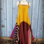 robe longue coton american vintage patchwork