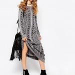 robe longue coton fendue demi saison