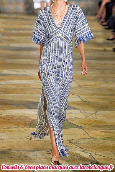 robe longue coton fendue haute couture