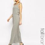 robe longue coton grise pas cher voile leger