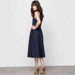robe longue coton la redoute laure clement