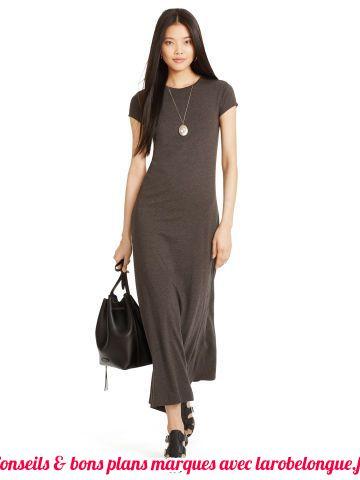 robe longue coton pas cher debardeur casual