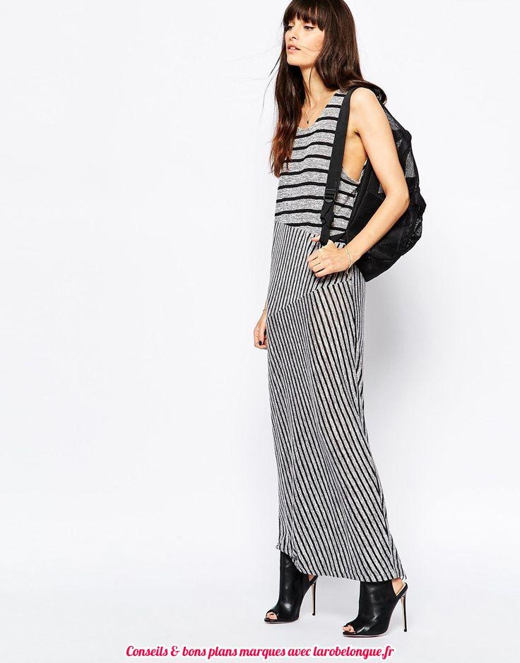 robe longue coton pas cher sans manche