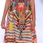 robe longue originale bustier hippie ideale pour ete