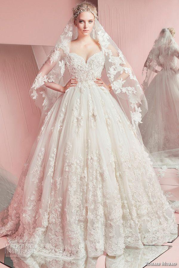 tres belle robe de mariage longue bustier dentelle createur