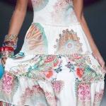 Belle robe longue desigual 2015 blanche gipsie