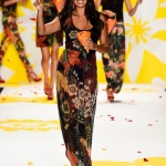 Desigual runway mercedes benz fashion week spring 2015