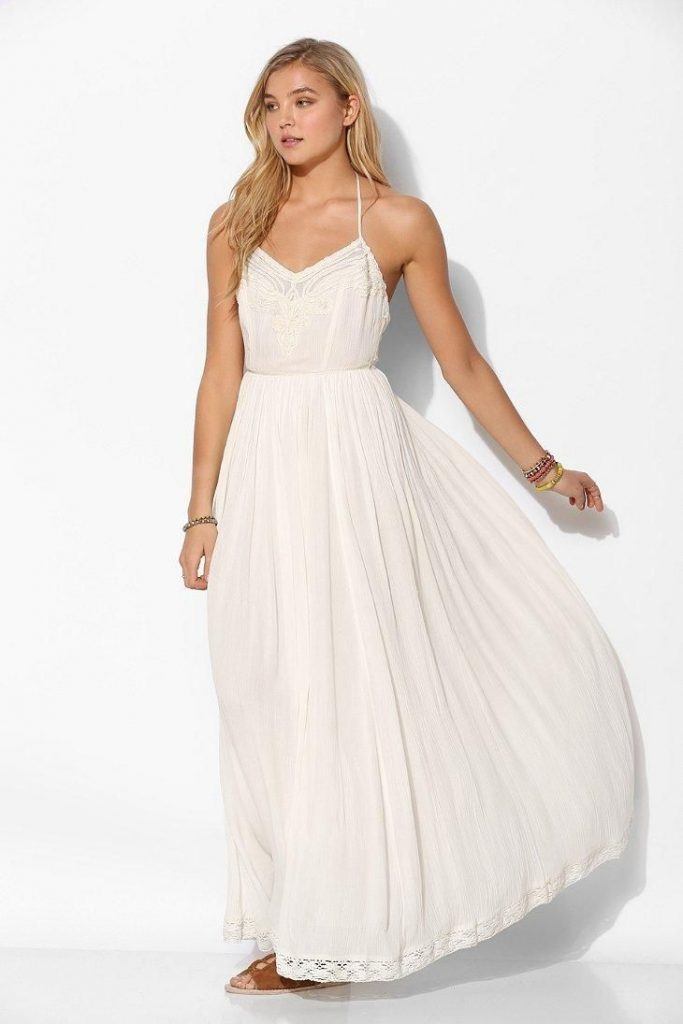 Robe Longue Blanche Fluide Robe Longue Robe Fluide Blanche ED2HYW9I