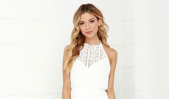 58a9b7146d8 Robe longue blanche  80 modèles à découvrir pour l été