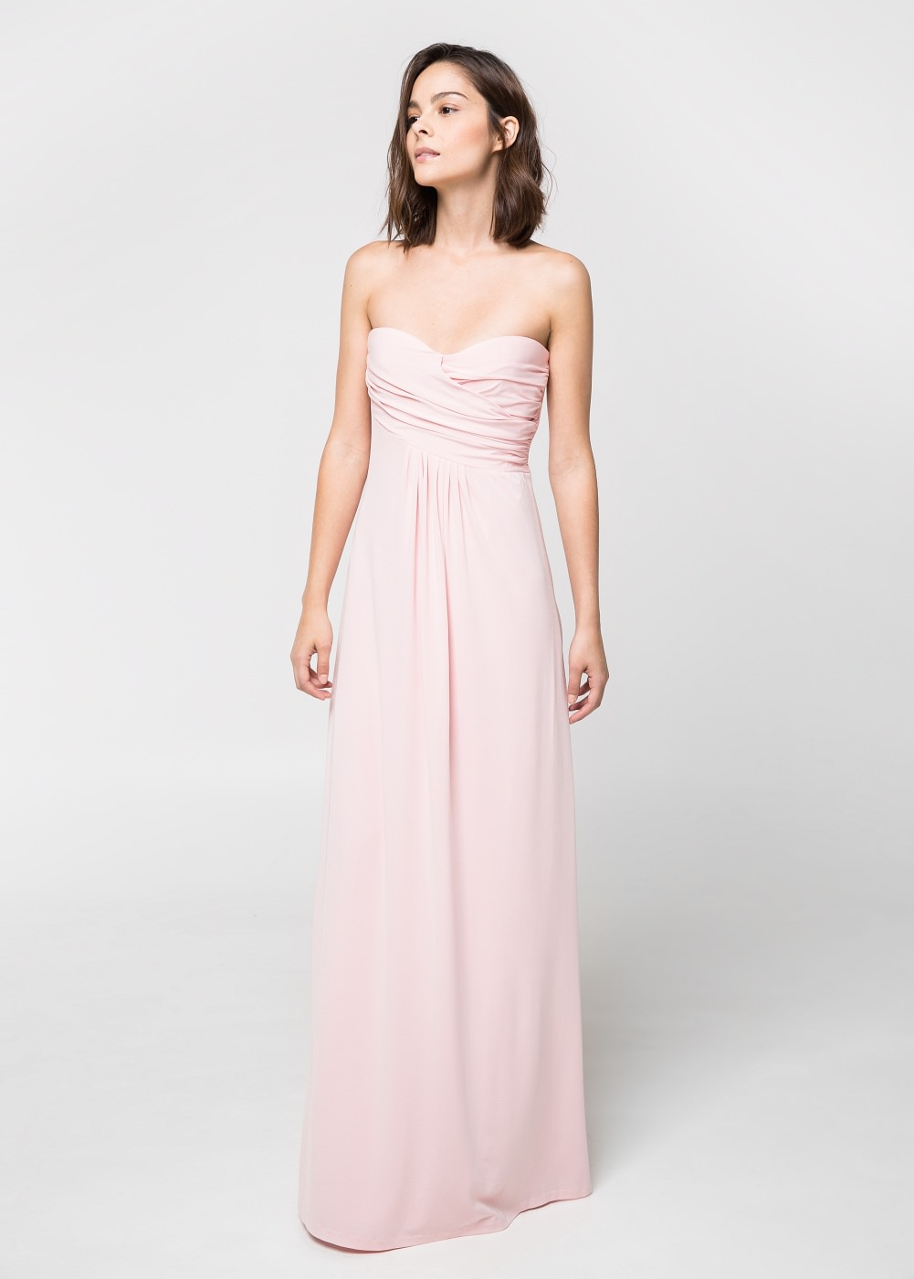 df600b7573a Robe longue mango knot - la robe longue