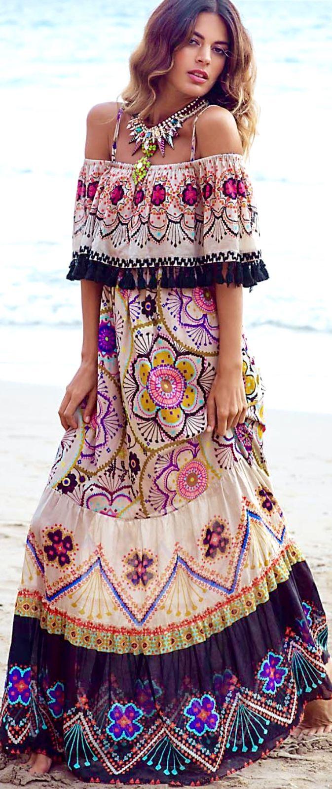 Belle robe fleur volantee sans manche esprit mandala