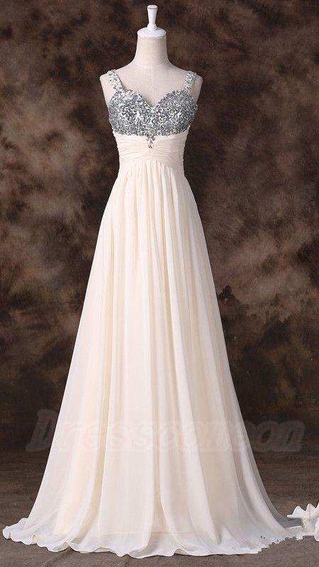 Jolie robe en mousseline longue et bustier gris taille haute