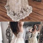 Sublime robe blanche longue dentelle tres travaillee