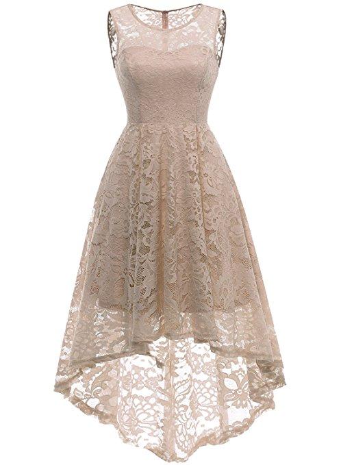 Robe blanche dentelle asymetrique romantique saint valentin