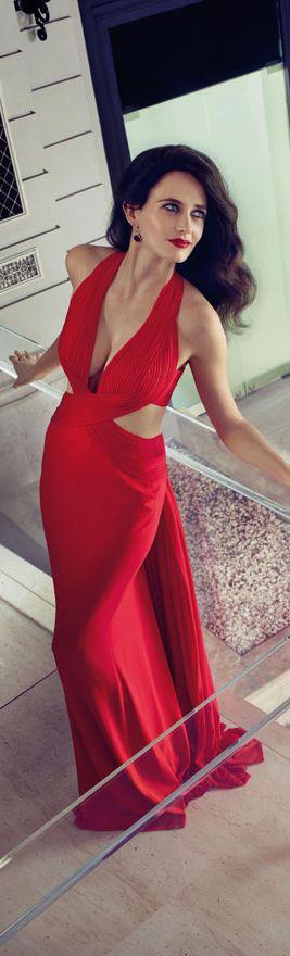 Robe de soiree classe et chic saint valentin rouge