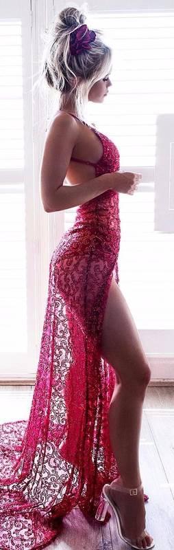 Tenue saint valentin pour soiree en tete a tete rouge et dentelle fine lingerie