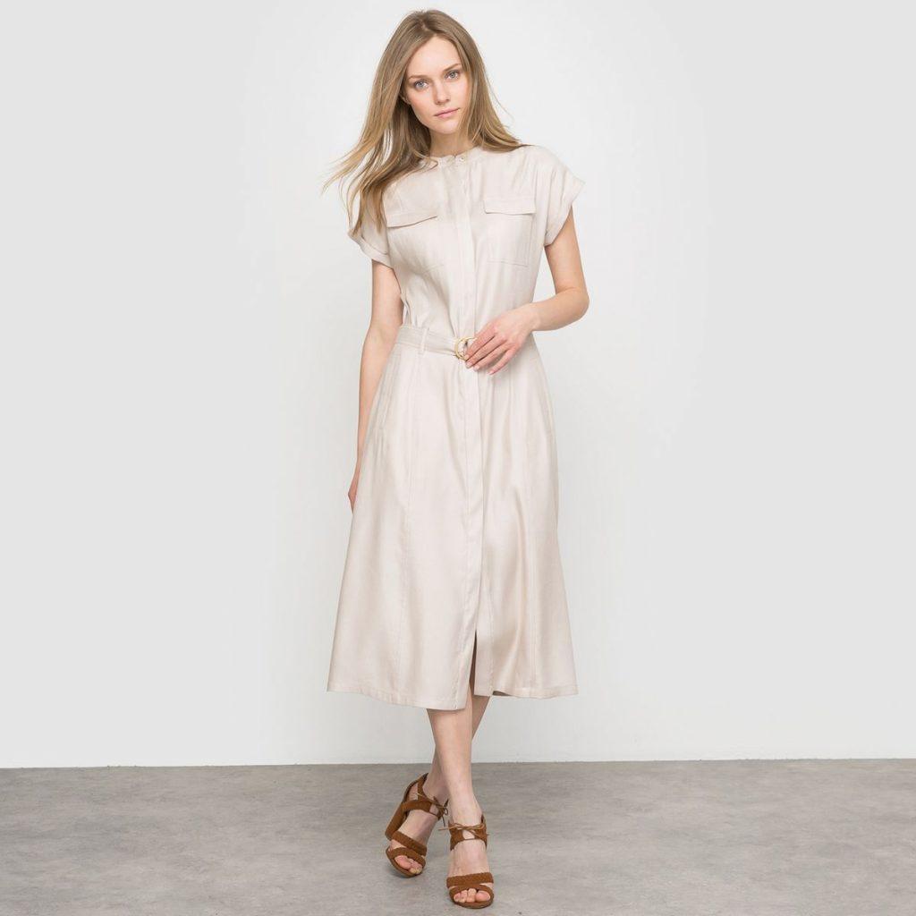 robe Laura clement blanche ecru