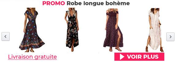 modèles de robe bohème